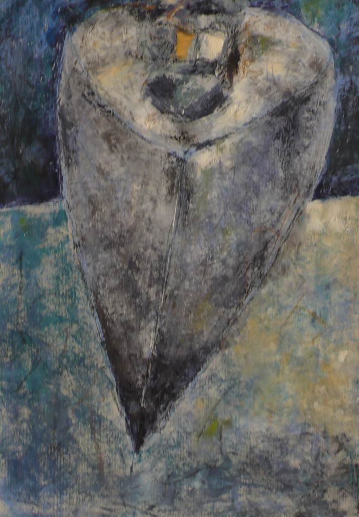 Relitto 8 (olio e cera, 70cm x 50cm)